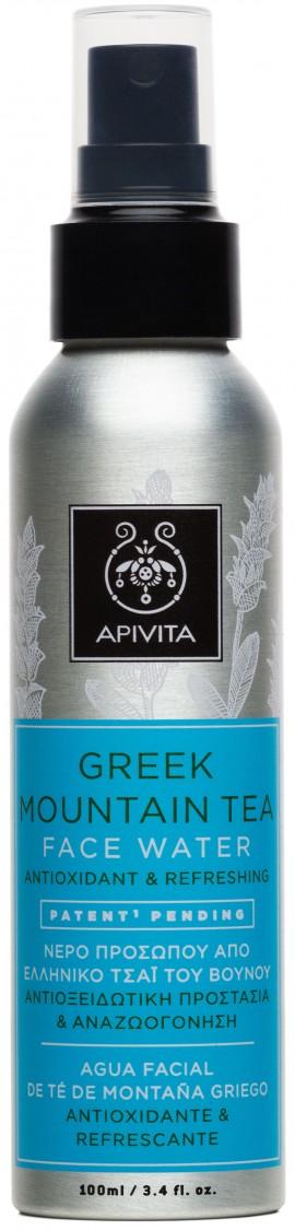 Apivita Νερό Προσώπου Από Τσάι του Βουνού, 100ml