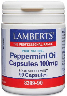 Lamberts Peppermint Oil 100mg, 90 Κάψουλες