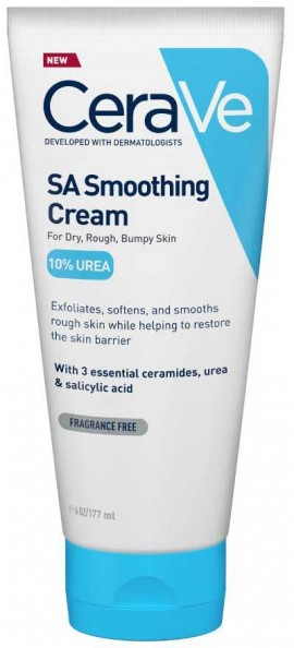 CeraVe SA Soothing Cream 10% Urea, 177ml