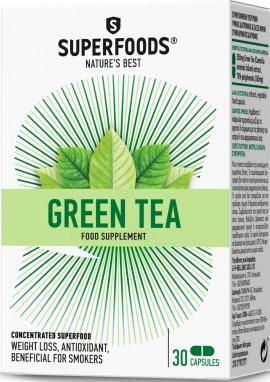 Superfoods Πράσινο Τσάι, 30 Κάψουλες