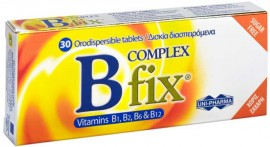 Uni-Pharma B Complex Fix , 30 Ταμπλέτες