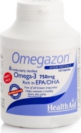Health Aid Omegazon, 120 Κάψουλες