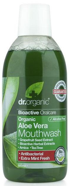 Dr. Organic Aloe Vera Mouthwash, 500ml