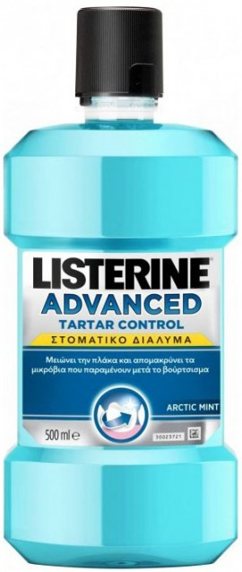 Listerine Advanced Tartar Control, 500ml