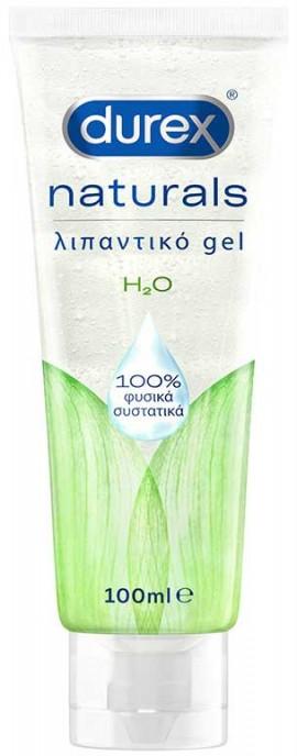 Durex Naturals Ενυδατικό Λιπαντικό Gel 100% Φυσικά Συστατικά, 100ml