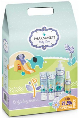 Pharmasept Promo Pharmasept Promo Mild Bath 500ml & Baby Extra Calm Cream 150ml & Baby Natural Oil 100ml & Baby Soothing Cream 150ml