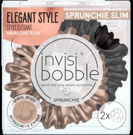 Invisibobble Sprunchie Slim True Golden, 2 Tεμάχια