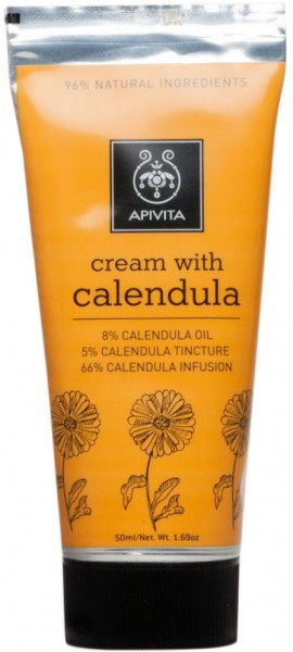 Apivita  Cream With Calendula, 50ml