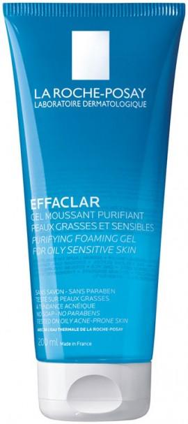 La Roche- Posay - Effaclar Gel Moussant Purifiant, 200ml