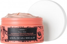 Korres Peach Double Hualuronic Multi Action Body Souffle, 200ml