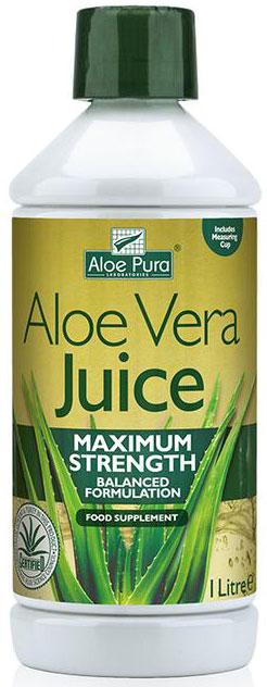 Optima Aloe Pura Juice Maximum Strenght, 1000ml