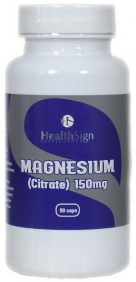 HealthSign Magnesium Citrate 150mg, 90 Kάψουλες