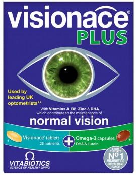Vitabiotics Visionace Plus 28 Ταμπλέτες & 28 Κάψουλες