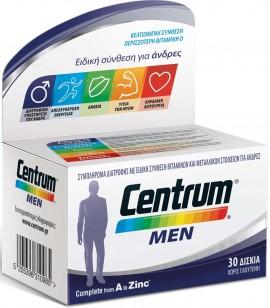 Centrum Men, 30 Ταμπλέτες