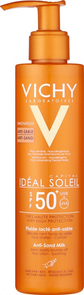 Vichy Ideal Soleil Anti Sand Milk SPF50+, 200ml