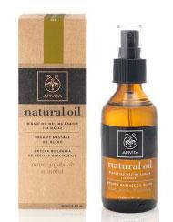Apivita  Νatural Oil Βιολογικό Μείγμα Ελαίων Για Μασάζ,100ml