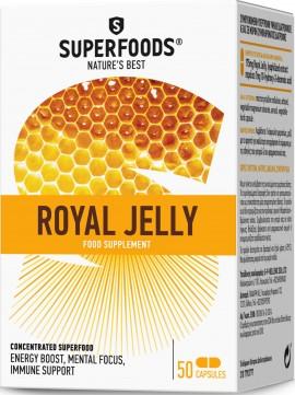 Superfoods Βασιλικός Πολτός, 50 Κάψουλες