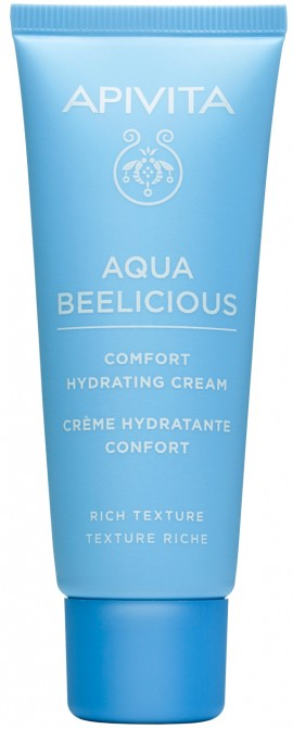Apivita Aqua Beelicious Rich Comfort Hydrating Cream, 40ml