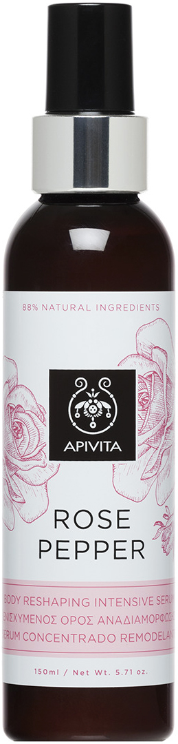 Apivita Rose Pepper Serum ,150ml