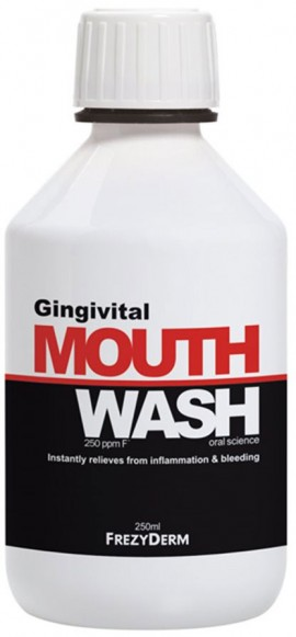 Frezyderm Gingivital Mouthwash, 250ml