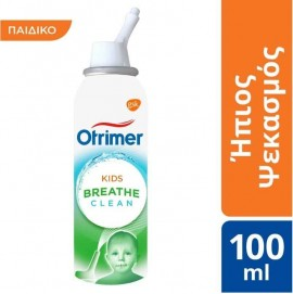 Otrimer Breathe Clean Kids Ήπιος Ψεκασμός, 100ml
