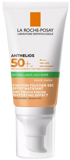 La Roche- Posay Anthelios Anti- Shine Dry Touch SPF50+ Με Χρώμα, 50ml
