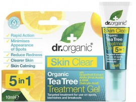 Dr. Organic Skin Clear 5 in 1 Treatment Gel, 10ml