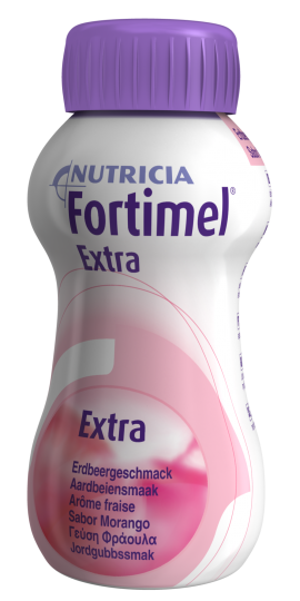 Nutricia Fortimel Extra Φράουλα, 4x 200ml