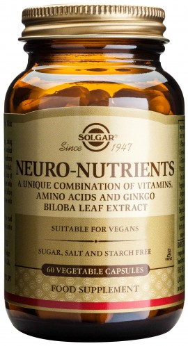 Solgar Neuro Nutrients, 60 Κάψουλες