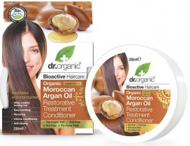 Dr. Organic Moroccan Argan Oil Hair Treatment Conditioner, 200ml
