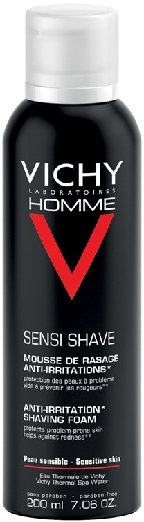 Vichy Homme Sensi Shave Mousse, 200ml