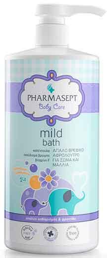 Pharmasept Tol Velvet Baby MIld Bath, 1lt
