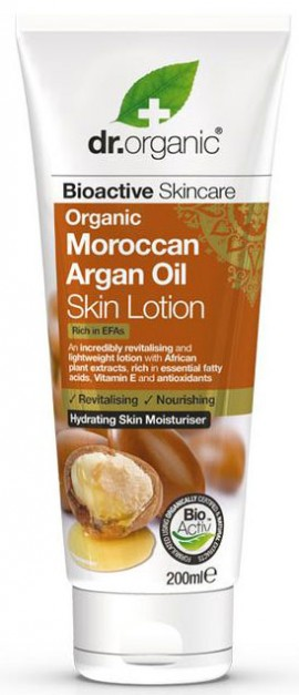 Dr. Organic Moroccan Argan Oil Skin Lotion, 200ml