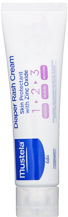 Mustela Vitamin Barrier Cream 1 2 3, 100ml