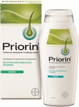 Priorin Σαμπουάν Για Λιπαρά Μαλλιά, 200ml