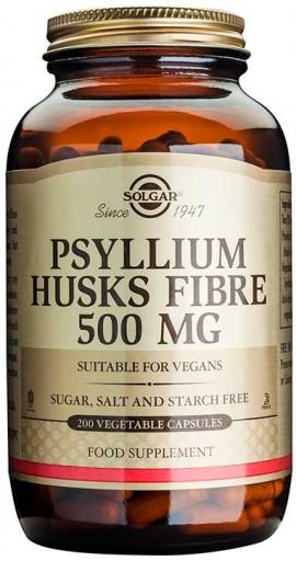 Solgar Psyllium Husk Fiber 500mg, 200 Κάψουλες