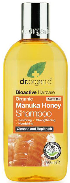 Dr. Organic Manuka Honey Shampoo, 265ml
