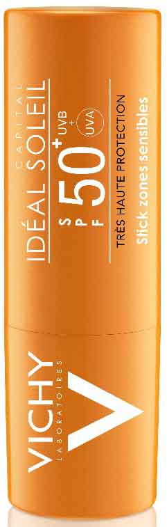Vichy Ideal Soleil Stick For Sensitive Areas SPF50+, 9gr