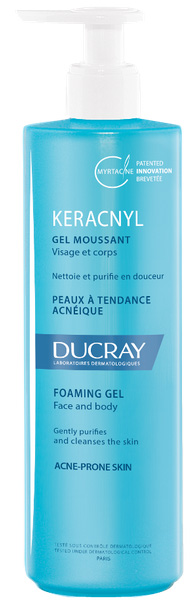 Ducray Keracnyl Foaming Gel Moussant, 400ml