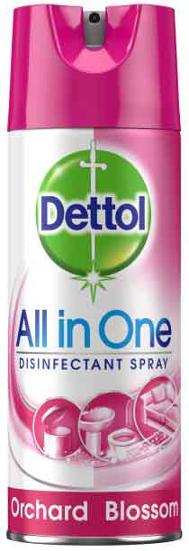 Dettol Spray All in One Orchard, 400ml