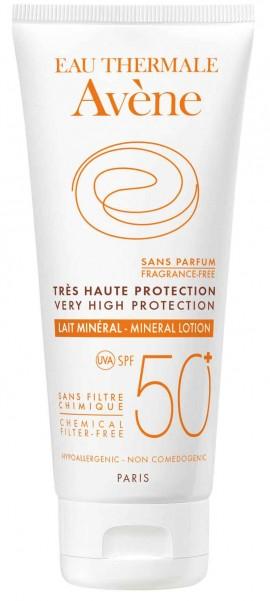 Avene Lait Mineral SPF50+, 100ml
