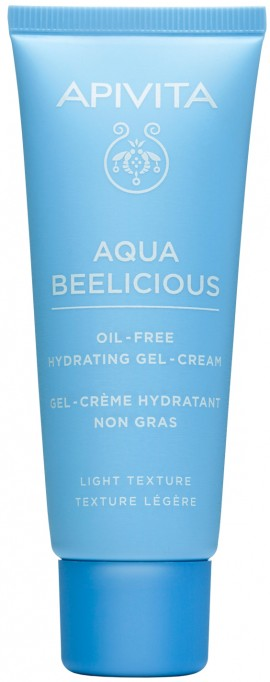 Apivita Aqua Beelicious Oil- Free Hydrating Gel- Cream, 40ml
