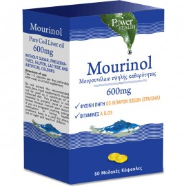Power Health Mourinol 600mg, 60 Μαλακές Κάψουλες