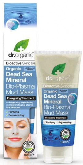 Dr. Organic Dead Sea Mineral Bio-Plasma Mud Mask, 100ml