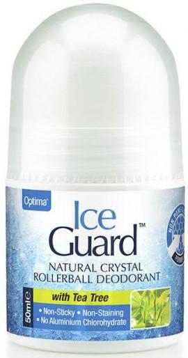 Optima Ice Guard Roll On Με Άρωμα Τεϊόδεντρο, 50ml