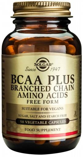 Solgar BCAA Plus, 50 Κάψουλες