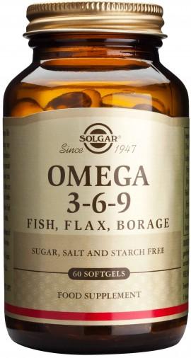 Solgar Omega 3-6-9, 60 Κάψουλες