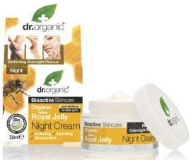 Dr. Organic Royal Jelly Night Cream, 50ml