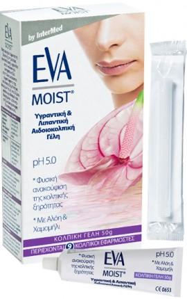 Intermed Eva Moist, 50gr 9 Κολπικοί Εφαρμοστές