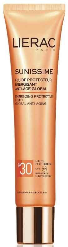 Lierac Sunissime Fluide Protecteur Energisant Anti-Age Global SPF30, 40ml